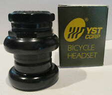 Headset 1 inch Threaded Road/ATB Black SunLite English 10 speed style YST New.