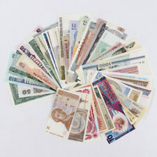 New listing From 27 Countries 43pcs Lot of Different Banknotes World Paper Money Unc