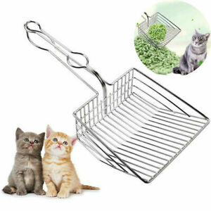 Cat Litter Scoop Metal Waste Scooper Poop Pet Sand Shovel Cleaning Tool Hot