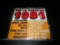 "CD ""LES 15 TUBES DE 1981"" Kim WILDE, Kim CARNES, Sylvie VARTAN, Buzy, ..."
