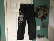Men's Ed Hardy Jeans Christian Audigier Tigers Serpent Size 34 X 34 (CON7)