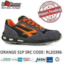 UPOWER SCARPE LAVORO ANTINFORTUNISTICA ORANGE S1P SRC U-POWER RL20396 RED LION