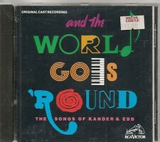 CD COMEDIE MUSICALE BROADWAY 18 TITRES--AND THE WORLD GOES' ROUND--KANDER & EBB