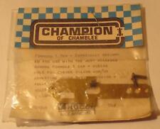 '60s Champion Formula 1 Slimline TJet Brass Weight Belly Pan for Aurora Slotcars