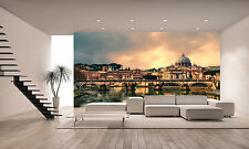 Sunset in Rome Wall Mural Photo Wallpaper GIANT DECOR Paper Poster Free Paste