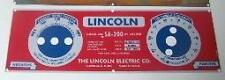 Lincoln Electric Arc Welder Blue Face .025 Aluminum Control Plate,8803
