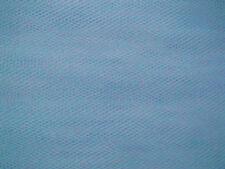 Powder Blue Veiling Tulle Wedding/Bridal Dress Fabric 280cm Wide @ £1.99 per mtr