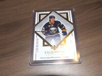 2017-18 UD BLACK DIAMOND EXQUISITE ALEXANDER NYLANDER