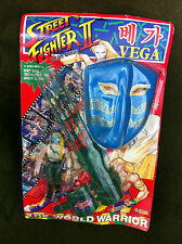 1992 Vintage Street Fighter 2 VEGA Korean Figure Doll MASK Toy Model Japan Anime