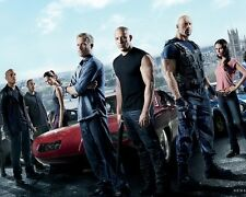 Fast and Furious 6 Elenco 10x8 Foto