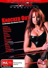 TNA Wrestling Knocked Out (DVD, 2010) NEW/SEALED [Region 4] **FAST SHIPPING**