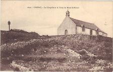 CARNAC - La chapelle et la Croix du Mont St Michel   (9200)