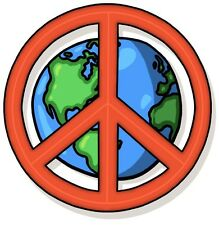 Peace Sign World Peace Sticker Decal Graphic Vinyl Label