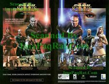 Star Wars Knights of the Old Republic II The Sith Lords 2-pg Original Print Ad