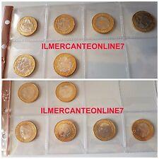 N° 6 MONETE 1000 LIRE 1997, 1997 CONFINI ERRATI 1998 ,1999, 2000 , 2001 FDC