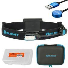 Olight Array 400 Lumen Dual Beam USB Rechargeable Headlamp + LumenTac Case