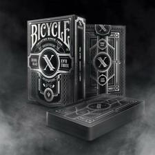 Double Black Playing Cards Bicycle Limited Edition Double Distilled
