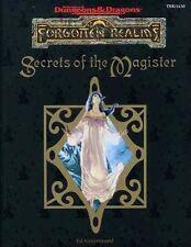 AD&D - SECRETS OF THE MAGISTER TSR 11430  Forgotten Realms FOR13
