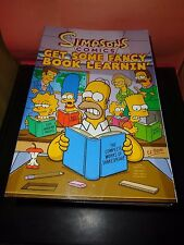 The Simpsons Comics Get Some Fancy Book Learnin' 2010 Trade Paperback NEW