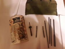 Vintage Vietnam Era M16A1 Rifle Cleaning Kit Dated July 1st 1969 with book