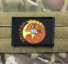 The Simpsons Fighting Hellfish Morale Patch Tactical Military Army Badge Flag