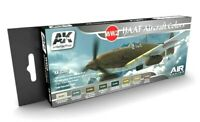 AK Interactive WWII IJAAF Aircraft Colours Acrylic Paint Set For Models