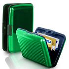 Aluminum Metal Credit Card Wallet Debit Business ID Holder Purse Case Pocket Box
