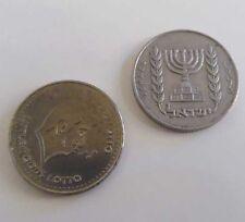 Vintage Israel Moneda Plus Littlewoods Lotto Token Moneda