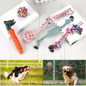 Dog Rope Toys for Aggressive Chewers Set of 5 Nearly Indestructible Dog Toys