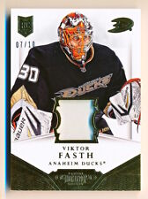 2013-14 Dominion Viktor Fasth Base Gold Patch Variation Rookie Rc (07/10)