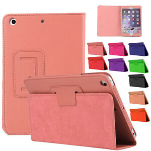 "For Apple iPad 9.7"" Gen 5th 2017 / 6th 2018 Leather Smart Stand Flip Cover Case"