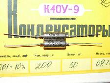 10 x NOS 0.01uF .01uF K40Y-9 200V 10% PIO Axial Capacitors Guitar Tone