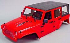 Axial Rc Escala Camión Chasis 1/10 Jeep Wrangler Rubicon Hard Body con / Interno