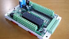 1pc FX1S 20MR/MT 4AD2DA Module board Clock Modbus 24VDC for Mitsubishi PLC
