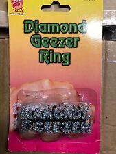 Diamond Geezer Ring-Gangster Ring-Chav Ring-ROBE FANTAISIE HOMME