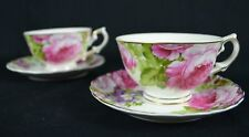 COUNTRY ROSE SET OF TWO NEW BONE CHINA 220 CC TEA CUP AND SAUCER