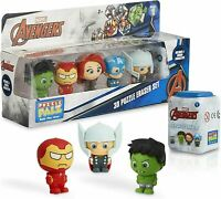 Marvel Pack of 5 Figures Iron Man Captain America Hulk Thor Widow For Boys Girls