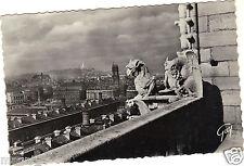75 - cpsm - PARIS - Les chimères de Notre Dame