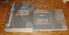2009 2010 Ford F-650 750 Super Duty Shop Service Manual + EVTM Wiring Diagrams