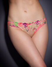 Agent Provocateur Zuri Brief in Pink Size:2 Small Ret: $150 New w/Tags