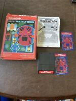 Tron Maze-A-Tron - Intellivision Video Game - 1982 - Complete - Tested - USED