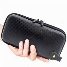 Black EVA Hard Case Carry Pouch Zip Storage Bag For Vape Accessory E