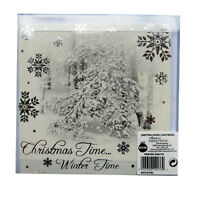Winter Wonderland Scene Christmas Cards with Envelopes - 10 Pack - 125 x 125mm