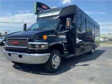 2007 Gmc Tc5500 Limo Shuttle Bus 8.1 Liter Gas 28 Passenger Rv Rust Free Church