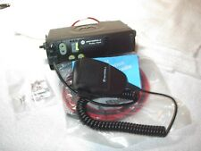 MOTOROLA CM200 VHF 25 WATT 4 CHANNEL RADIO WITH NEW ACCESSORIES