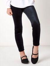 Polyester Patternless Leggings (2-16 Years) for Girls