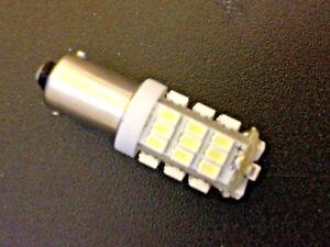 Fits VW White MEGA BRIGHT 42 LED 12v Instrument Panel Clock SMD Light Bulb