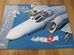 "Jagdgeschwader 71 ""Richthofen Last Call F4F Phantom II Kalender 2014 + Bonus"