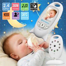 Wireless Digital Babyphone mit Kamera Farbe Video Monitor Nachtsicht Babypflege