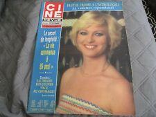 """CINE TELE REVUE N°14 - 1981"" Evelyne LECLERCQ, Jean CARMET, Marie-France PISIER"